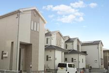 勝田台北の住宅地